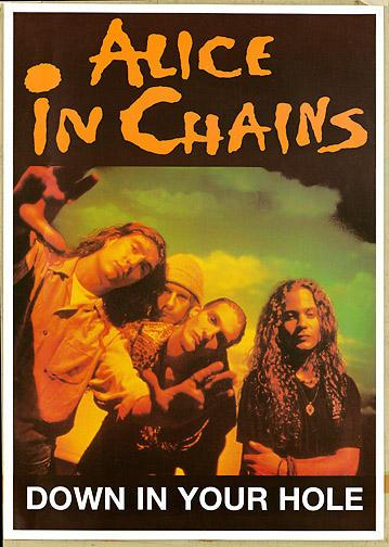 Alice in Chains Dirt Promo Poster