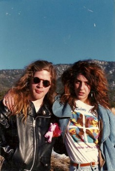 Andrew Wood and Xana la Fuente