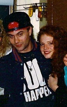 Me and Mike Starr (Barbara Dearaujo)